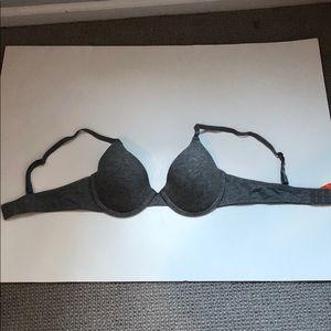 🍭*6/$30* Joe Fresh Gray T-shirt bra- 34A